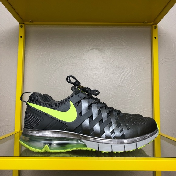 timeless design c15e4 aea68 Nike Fingertrap Max Gray Shoes Men s Size 11 - NEW